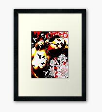 Mischievious Hummingbird Framed Print