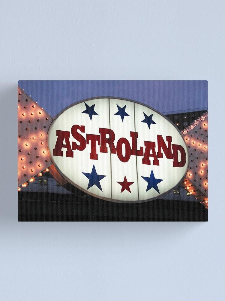 Alternate view of Astroland Canvas Print