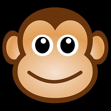 cute monkey by corinacrouse