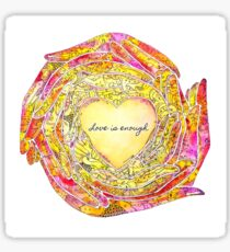 Circle of Love Sticker