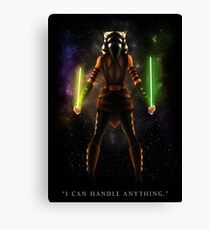 "Ahsoka Tano - ""I Can Handle Anything"" Canvas Print"