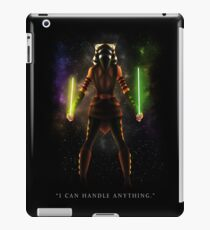 "Ahsoka Tano - ""I Can Handle Anything"" iPad Case/Skin"