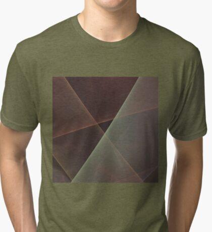 #Fractal Art Lines Tri-blend T-Shirt