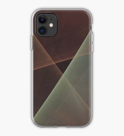#Fractal Art Lines iPhone Case