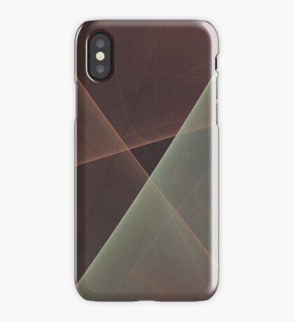 #Fractal Art Lines iPhone Case