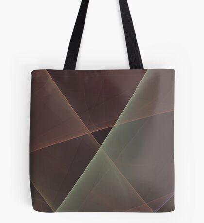 #Fractal Art Lines Tote Bag