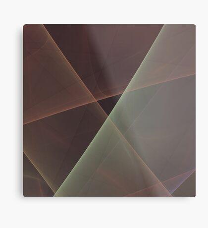 #Fractal Art Lines Metal Print