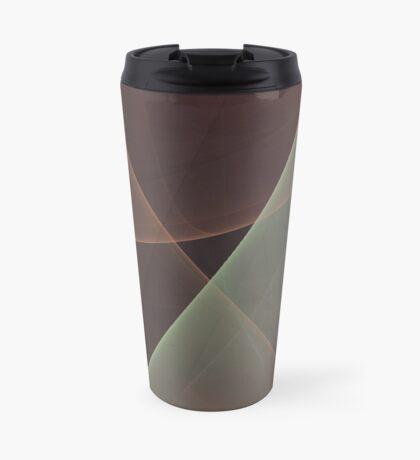 #Fractal Art Lines Travel Mug