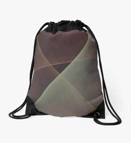 #Fractal Art Lines Drawstring Bag