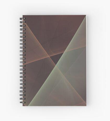 #Fractal Art Lines Spiral Notebook
