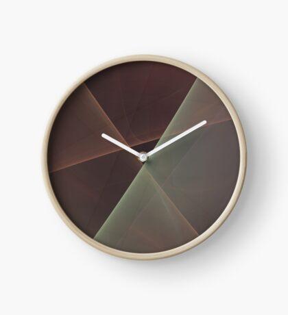 #Fractal Art Lines Clock