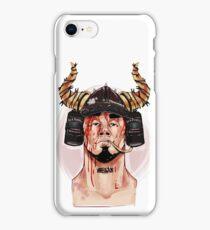 viking beer hat iPhone Case/Skin