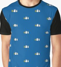 Chibi Totoro Graphic T-Shirt