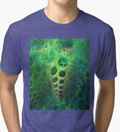 BubbleX #fractal art Tri-blend T-Shirt