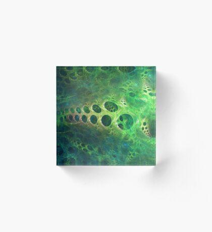 BubbleX #fractal art Acrylic Block