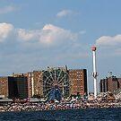 Coney Island Beach 2  by thesunsetkid