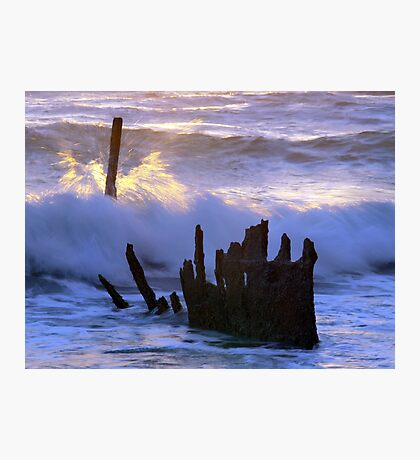 Fiery Sea  Photographic Print