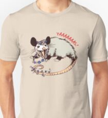 Daisy Chain Opossum Possum Yaaaas! Slim Fit T-Shirt