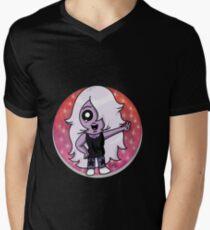 Chibi Amethyst Men's V-Neck T-Shirt