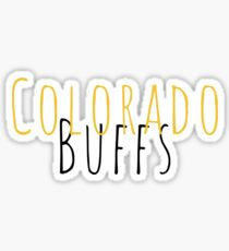 colorado buffs Sticker
