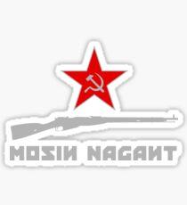 Mosin Nagant Rifle Lover Sticker