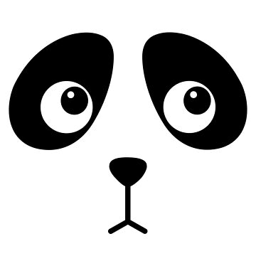 Panda Face by karenisme