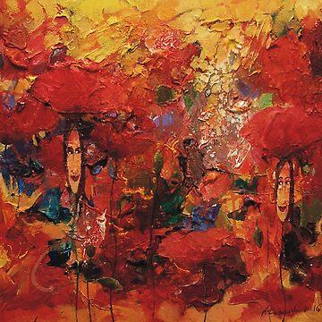 Poppies Ladies by klozowski