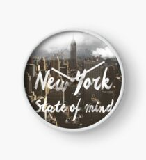 New York State of mind Clock