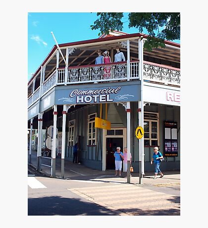 Commercial Hotel Boonah Photographic Print