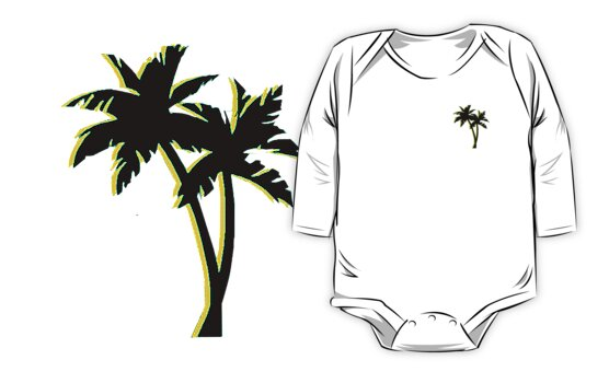 Black Palm Tree by YungVinny