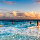 The Colorful Caribbean Sea - Playa del Carmen Mexico by Mark Tisdale