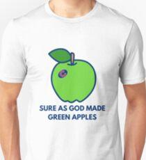 Chicago Cubs World Series Green Apples Unisex T-Shirt