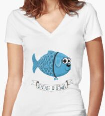 Dog Fish Women's Fitted V-Neck T-Shirt