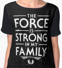 The Force of the Family Chiffon Top