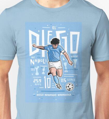 diego maradona napoli Unisex T-Shirt