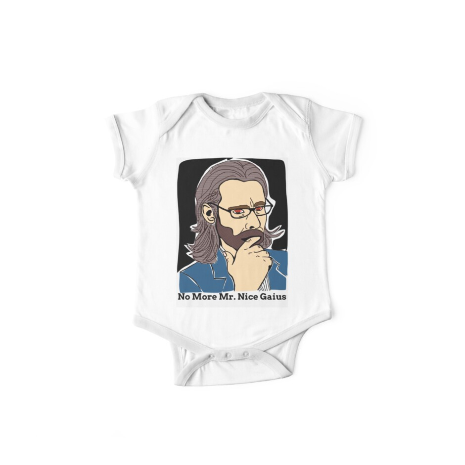 8b7b0ee02 'The Vice President Of The Colonies, Dr. Gaius Baltar' Kids Clothes by  Leomeow