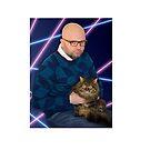 Rodney Cromwell 'Space Cat' by happyrobots