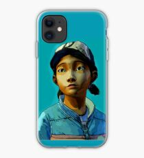 CLEMENTINE THE WALKING DEAD GAME iphone case