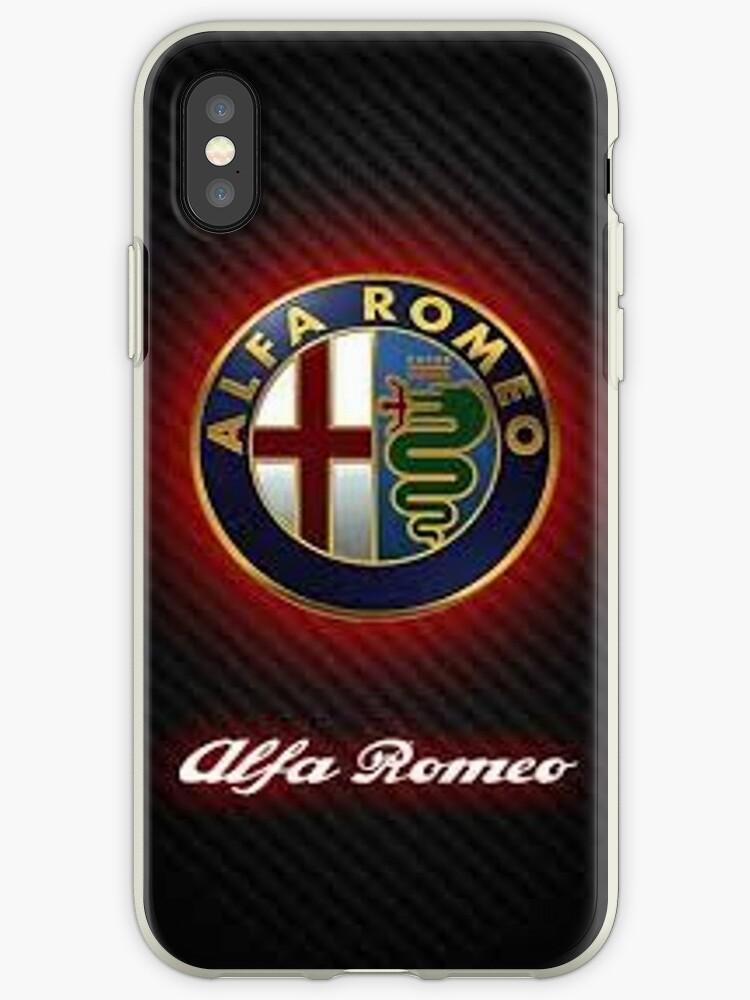 best loved b63cb c48df 'Alfa romeo phone case' iPhone Case by Julian Nasr