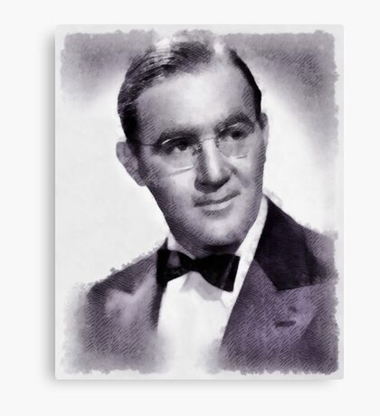 Benny Goodman, Musician Canvas Print