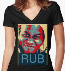 Ainsley Harriott - RUB Women's Fitted V-Neck T-Shirt