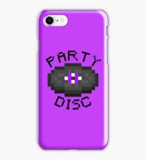 PARTY DISC (MINECRAFT) iPhone Case/Skin