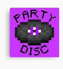 PARTY DISC (MINECRAFT) Canvas Print