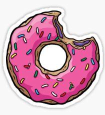 Funny donut Sticker