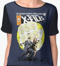 The Uncanny X-Files Women's Chiffon Top