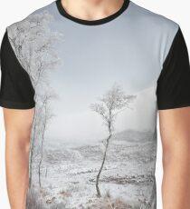 Glen Shiel Misty Winter Trees 2 Graphic T-Shirt
