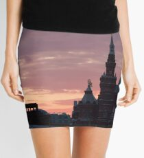 Red Square in Moscow, Russia Mini Skirt