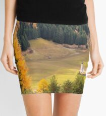 Val di Funes in the Dolomites Mini Skirt