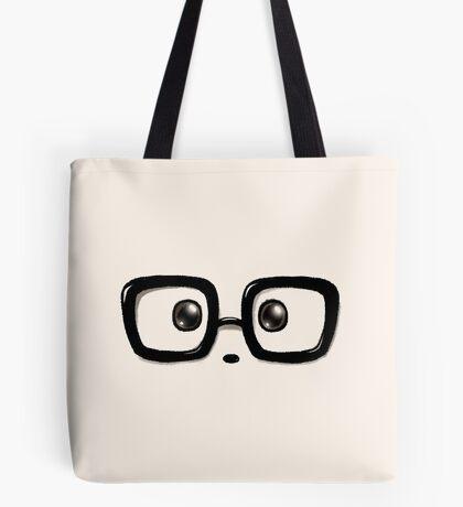 Geek Chic Panda Eyes Tote Bag