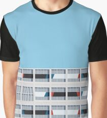 Le Corbusier Facade S03-1 Graphic T-Shirt